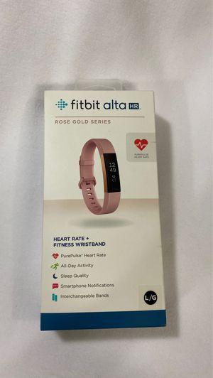 Fitbit Alta HR Rose Gold Series for Sale in Rosemead, CA