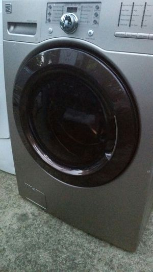 Nice washer brown in color 3 months warranty for Sale in Lincolnia, VA