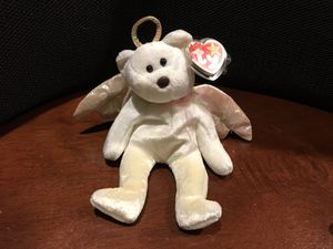RARE!! ORIGINAL! TY BEANIE BABIES BABY HALO ANGEL 1998 TUSH TAG BROWN NOSE for Sale in Arnold, MO
