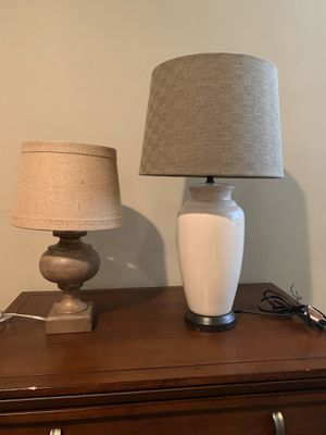 Coordinating table lamps for Sale in St. Petersburg, FL