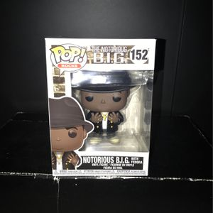 FUNKO POP ROCKS NOTORIOUS B.I.G. WITH FEDORA for Sale in Montebello, CA