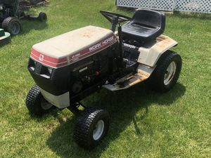 Garden Tractor and yard trailer for Sale in Sterling Heights, MI