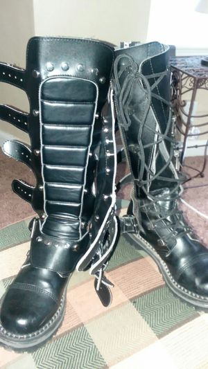 Demonia goth boots size 9 mens for Sale in Salt Lake City, UT
