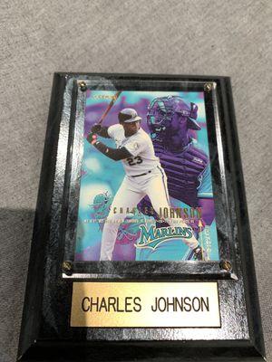 Charles Johnson baseball card for Sale in Hialeah, FL
