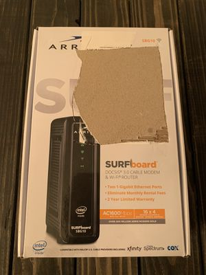 Arris surfboard Cable modem router for Sale in Henderson, NV