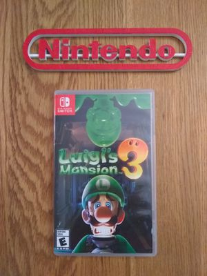 LUIGI'S MANSION 3 CASE ONLY! NO GAME! for Sale in Shippensburg, PA