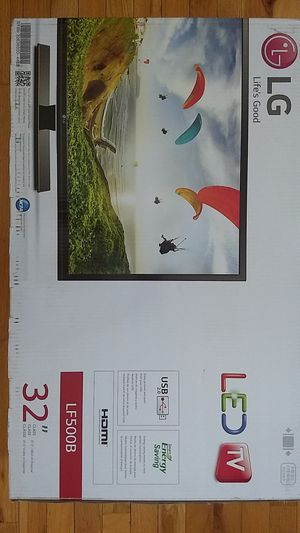"""LG 32"""" LED TV for Sale in East Peoria, IL"""
