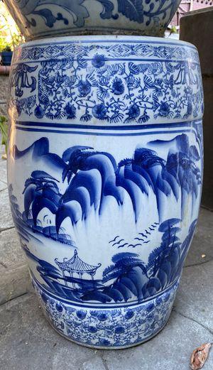Ceramic garden stool for Sale in San Jose, CA