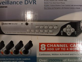 *New* 4Security Cam + DVR 500gb Hard Drive Included for Sale in Roseville,  MI