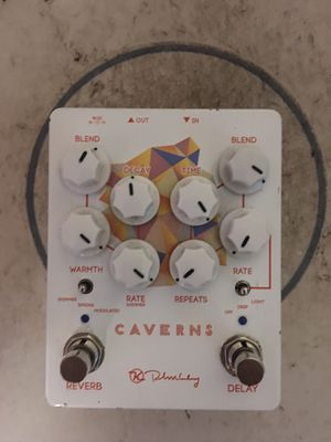 Caverns Delay and Reverb Combo Guitar Pedal for Sale in Fort Lauderdale, FL
