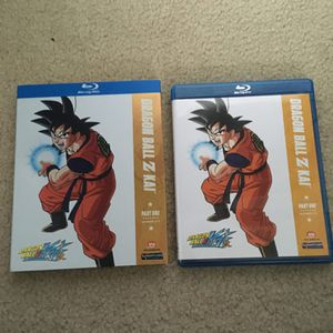 Dragonball Z Kai part one blue ray for Sale in Snohomish, WA