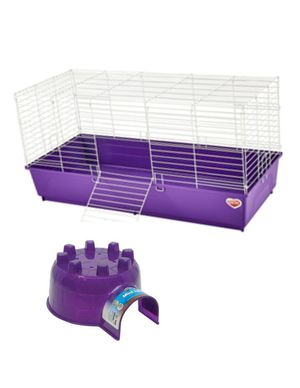 Extra large cage and large igloo for Sale in Collinsville, IL
