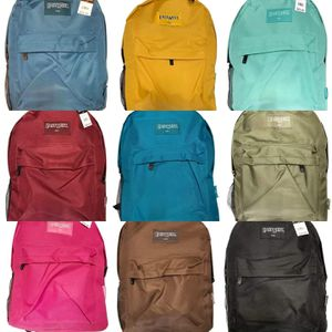 Brand NEW Variety Of Colors Regular Size Backpacks For School/Traveling/Everyday Use/Hiking/Biking $8 EACH! for Sale in Carson, CA