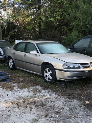 2000 Chevy impala parts only for Sale in Winter Haven, FL