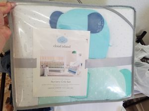 New elephant crib bedding for Sale in Keizer, OR