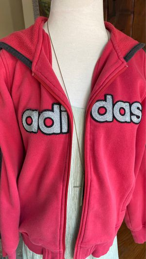 Adidas red hooded sweatshirt size medium for Sale in Riviera Beach, FL