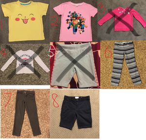 Size 6 Girls Tops and Pants for Sale in Seattle, WA