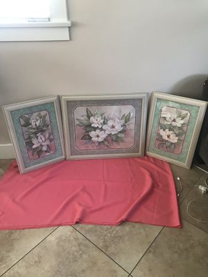 Set picture frame decorative home interior $100 for Sale in Long Beach, CA