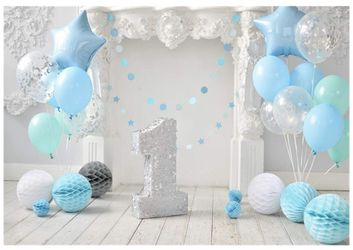 1st Bday Back Drop  for Sale in Lawndale, CA