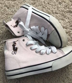 Ralph Lauren POLO girls new sneaker shoes size 13 for Sale in Moreno Valley, CA