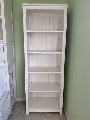 Tall bookcase- Pottery Barn Beadboard tower for Sale in Issaquah, WA
