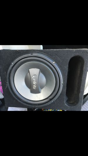 Infinity speaker with Memphis audio car amp 16-st500d for Sale in Providence, RI