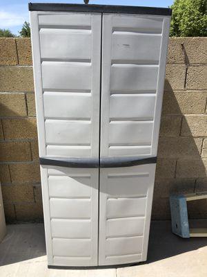 Plastic storage shed. Read the description for Sale in Phoenix, AZ