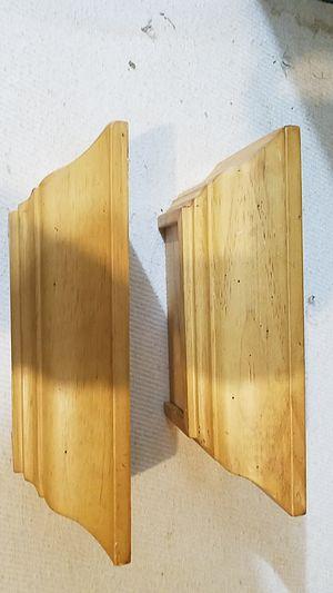 Two small oak shelfs for Sale in Plainfield, IL