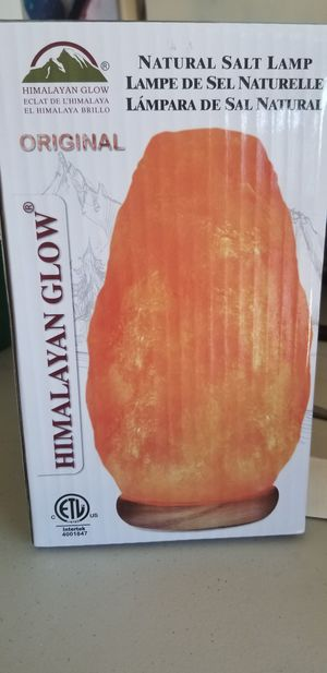 Himalayan salt lamp new in box for Sale in Youngtown, AZ