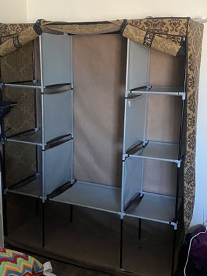 Portable clothes and shoes closet for Sale in Mesa, AZ