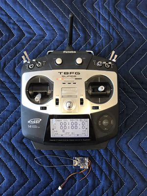 Futaba T8FG SUPER 2.4GHz 14 Channel Transmitter & Receiver Tx Rx Drone Remote for Sale in Spring Valley, CA