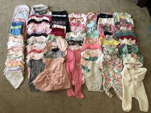 Huge lot of baby girls clothes for Sale in Redmond, WA