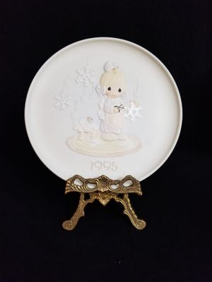 Precious Moments- He Covers The Earth With His Beauty-1995 Decorative Plate NIB for Sale in Austin, TX