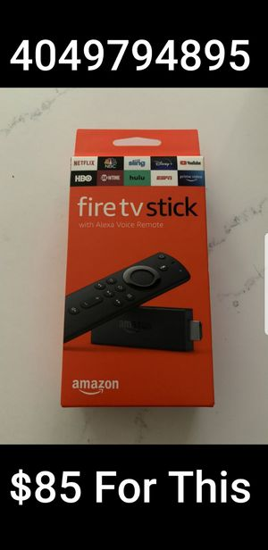 AMAZON FIRESTICK UNLOCKED!!!! for Sale in Atlanta, GA