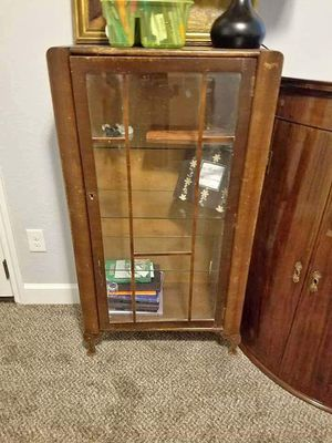 Curio cabinet, display for Sale in Hockley, TX