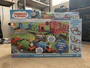 Thomas & Friends Talking Thomas & Percy Train Set for Sale in San Gabriel, CA