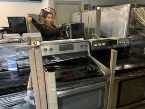 New and used stainless electric glass top stoves for Sale in Orlando, FL