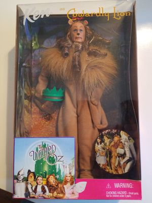 Barbie 25814 Cowardly Lion Ken Doll NIB 1999 for Sale in Westport, MA