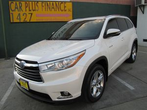 2016 Toyota Highlander Hybrid for Sale in Los Angeles, CA