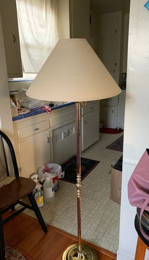Brass floor lamp for Sale in Glendale, CA