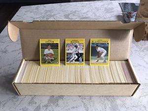 1991 Fleer Baseball Card Set for Sale in Puyallup, WA