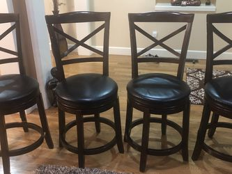 Bar Stools-Wooden- Set of 4 for Sale in Redmond,  WA
