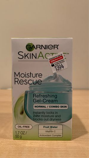Garnier SkinActive moisture rescue gel cream 1.7 oz for Sale in Alexandria, VA