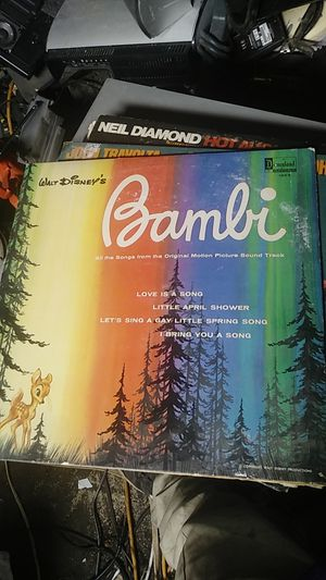 Bambi vinyl record for Sale in Phoenix, AZ