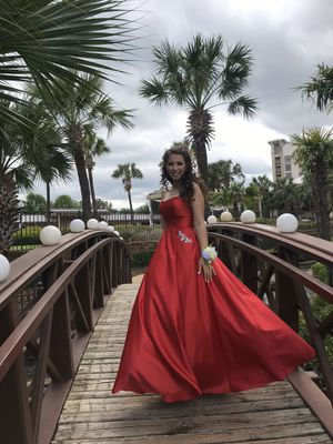 Red Prom Dress for Sale in Marble Falls, TX