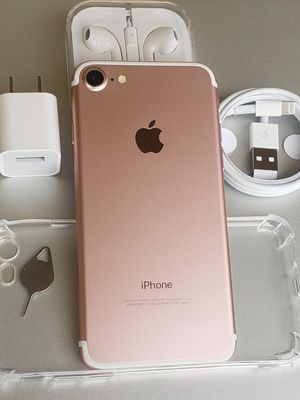 iphone 7 32GB Clean unlocked T-Mobile Metro AT&T Cricket Sprint Boost Verizon Telcel Rose Gold for Sale in Rosemead, CA