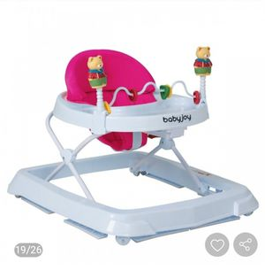 Portable Baby Walker with Adjustable Height & Removable toys with Folding option for Sale in Upland, CA
