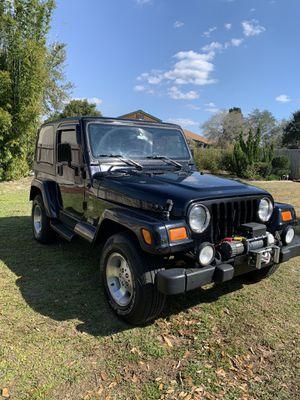2000 Jeep Wrangler Sahara for Sale in Spring Hill, FL