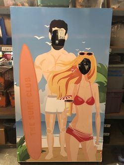Surf Themed Photo Booth Frame Prop for Sale in Chino Hills,  CA