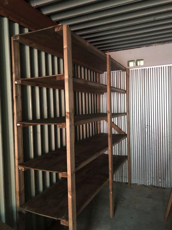Shelving Units Wood